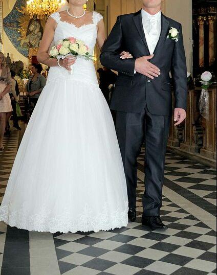 suknia ślubna rozmiar 38 Piwniczna-Zdrój - image 1