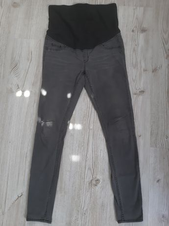 Spodnie, jeansy ciążowe h&m
