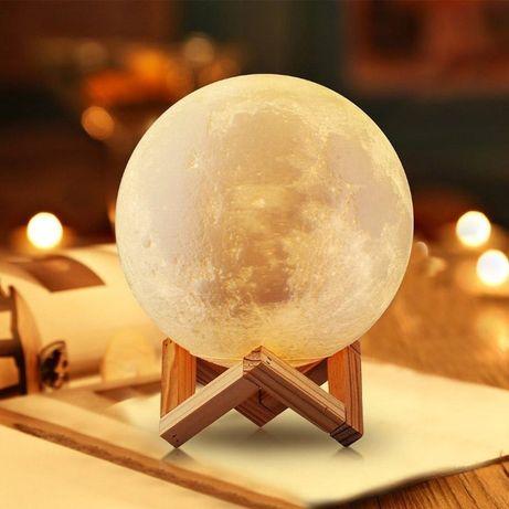 Сенсорный ночник Луна 13 см и 15 см Magic 3D, светильник