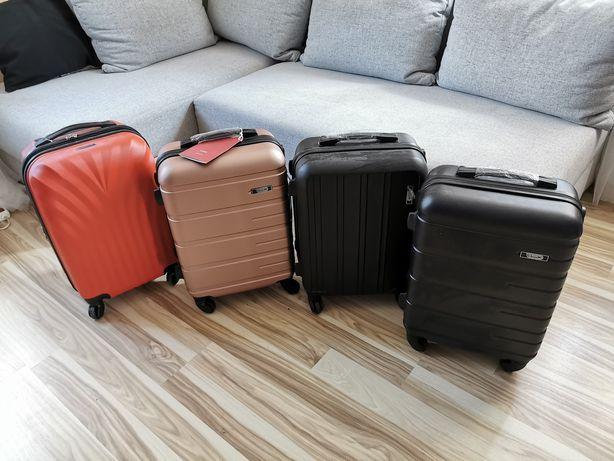Walizki podróżne kabinowe małe nowe bagaż