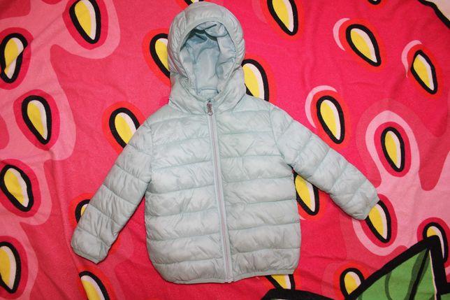 Куртка демисезонная ультратонкая на 2-3 года Primark