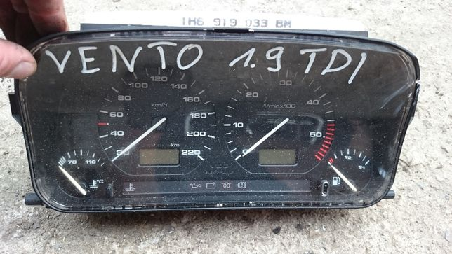VW Vento 1.9Dti, licznik