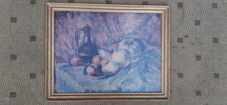 Drewniana Rama na obraz w kol. złoty 56,5 x 44,2 x 2,3 cm WYSYŁAM