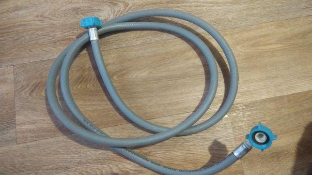 Шланг заливной для подключения стиральной машинки 2.0 метра.