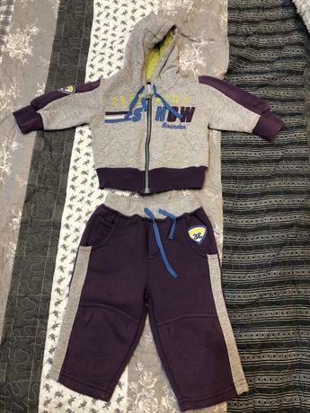 костюм штаны кофта рост 68 Италия