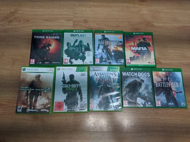 Gry Xbox one !!!