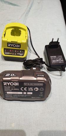 Ryobi akumulator 2.0 ah i ładowarka nowe