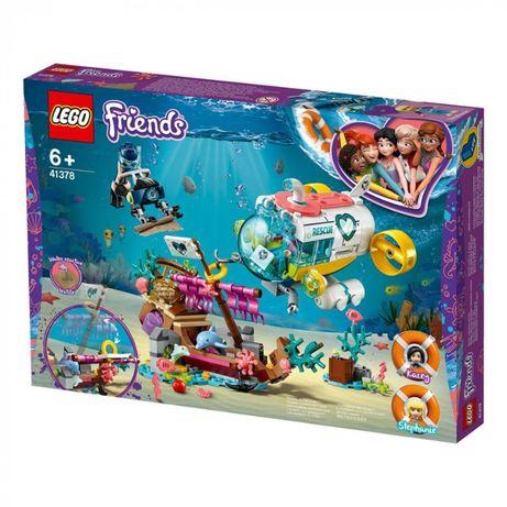 Новый конструктор LEGO Friends Спасение дельфинов 41378