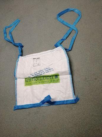 big bag na ziemię kamień żwir 90x90x100 cm / nowy worek