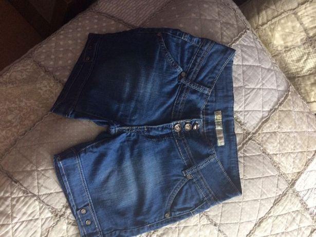 Spodenki jeans dzins dżinsowe