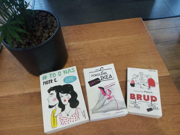 Zestaw książek Piotr C: Pokolenie Ikea, Brud, To o nas