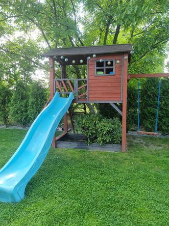 Domek drewniany, plac zabaw , domek dla dzieci