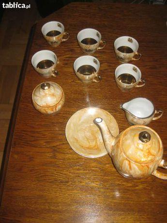Serwis obiadowo kawowy PORCELANA