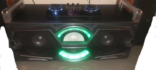 Wieża głośnik Bluetooth mp3 karaoke Manta SPK5011