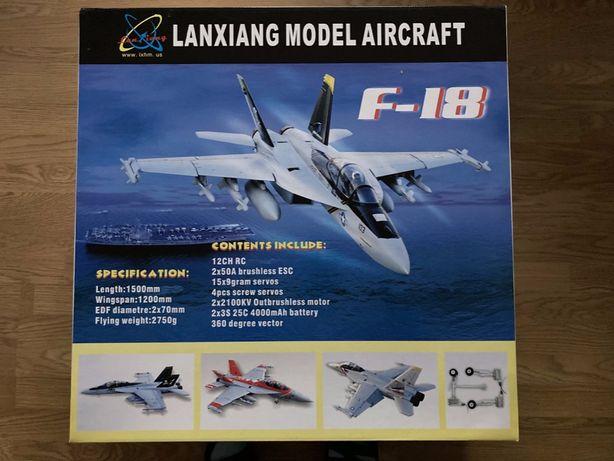 Model RC Samolot F/A-18F Super Hornet EDF producent Blitz Works