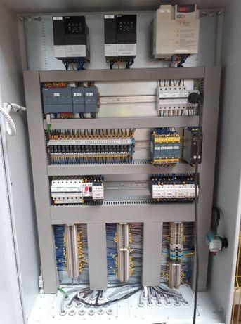Automatyk programowanie PLC schematy elektryczne szafy sterownicze
