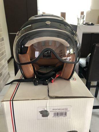 Kask motocyklowy Astone Sporster Exclusive Matt Black S