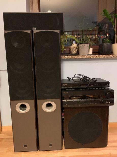 Onkyo TX-SR576, amplituner, kino domowe 5.1 zestaw HI-Fi, głośniki