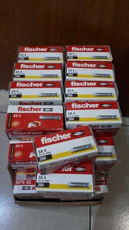 Buchas Fischer SX 4mm / SX 5mm