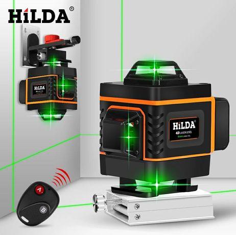 Лазерный уровень 16 линий HILDA 4D, нивелир 16 линий. Лучшая цена!
