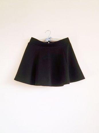 Spódnica H&M czarna rozkloszowana rozmiar M
