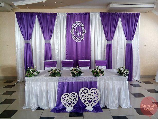 Украшения на свадебный кортеж / Украшение банкетного зала .ЖИТОМИР