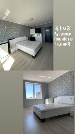 1 кімн Новобудова Дж. Вашингтона 41м2 Зданий будинок з ремонтом