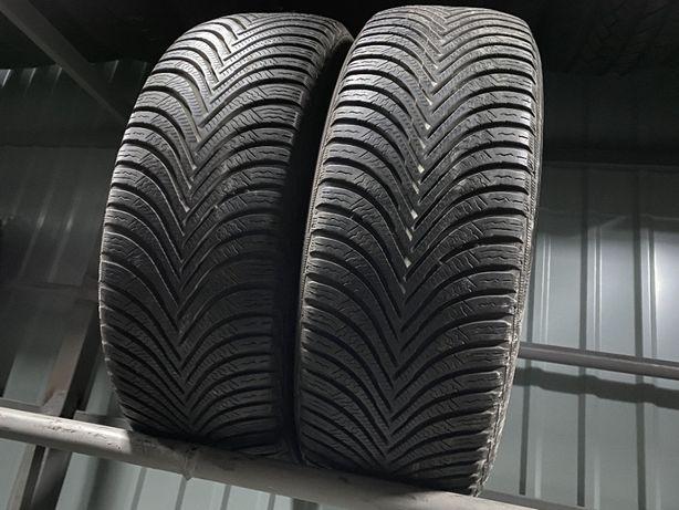 Зима 215/65/R16 6,6мм Michelin Alpin 5 2шт Зимняя резина