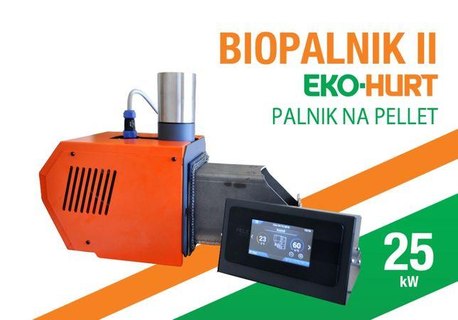 BIOPALNIK II palnik do kotła na pellet 25 kW PELLET podajnik
