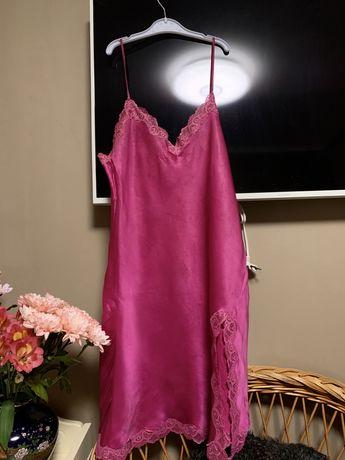 Ночная сорочка, пенюар натуральный шелк