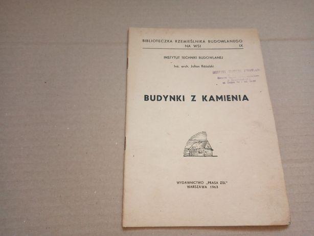 J. Różalski Budynki z kamienia 1963r.