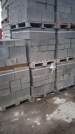 Bloczki betonowe fundamentowe, kostka betonowa, szalunek II gatunek