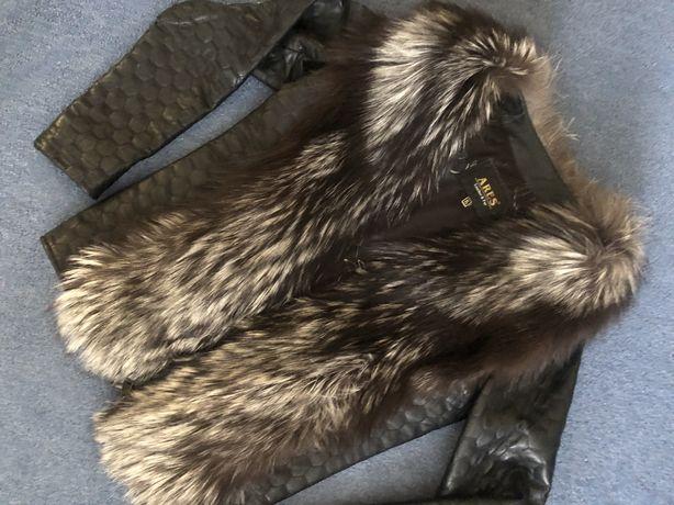 Куртка желетка кожа писец