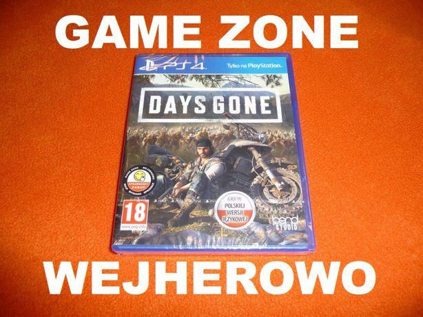 Days Gone PS4 + Slim + Pro = PŁYTA PL Wejherowo = FOLIA