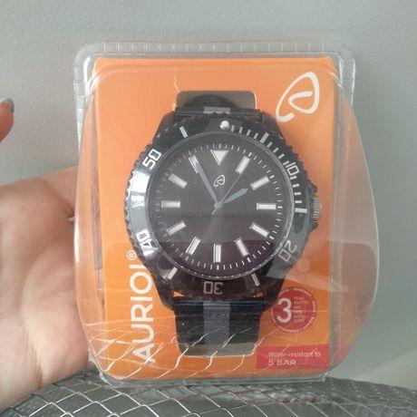 Zegarek Męski Auriol na pasku nylonowym. Wodoszczelny do 5 bar