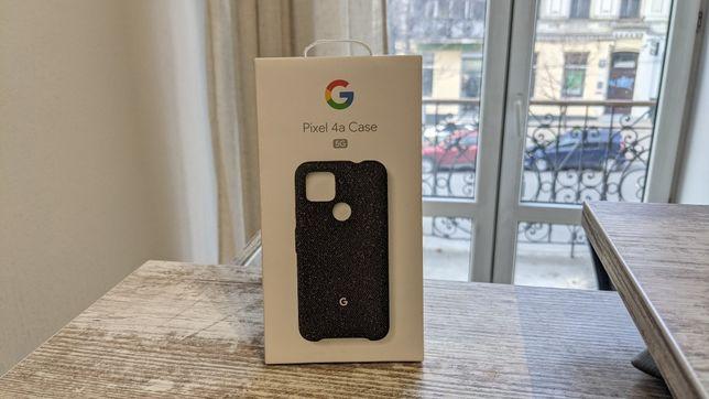 Чехол Google Pixel 4a 5G Fabric Чохол Basically Black