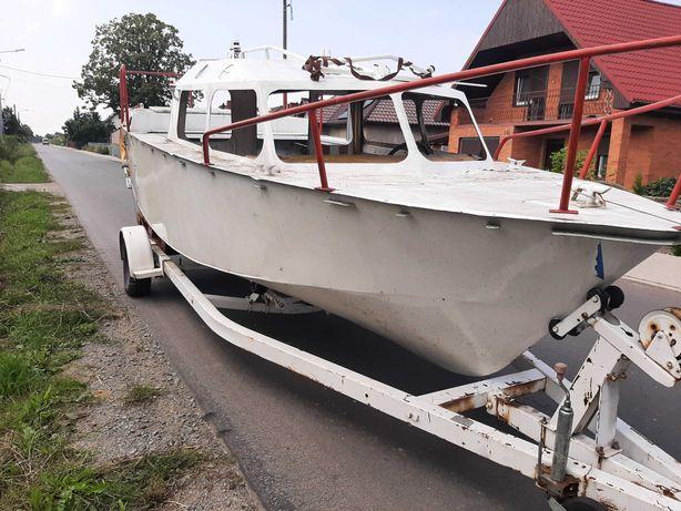 Jacht łódź motorowa kabinowa aluminiowa