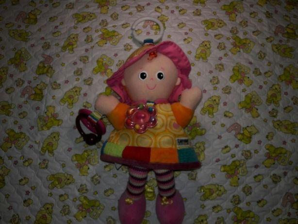 Развивающая Кукла-подвеска в кровать или коляску