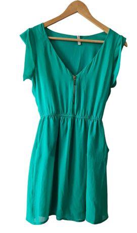 Zielona letnia sukienka rozm. S