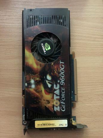 Видеокарта GeForce 9600GT ZOTAC