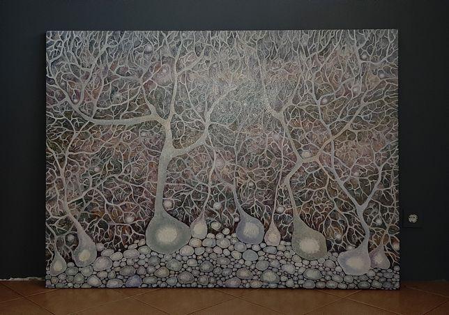 Живопись интерьерная, большой формат(110×150)