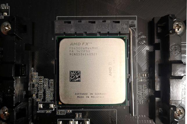 ASrock Fatality + FX-4300 4x 3,8GHz + 4GB DDR3 +500GB HDD