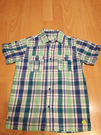 Koszula na krótki rękaw dla chłopca, rozmiar 122