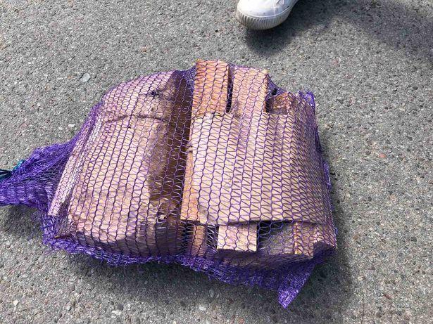 Набір для пікніка дрова для вогня шашлика вугілля для розпалки