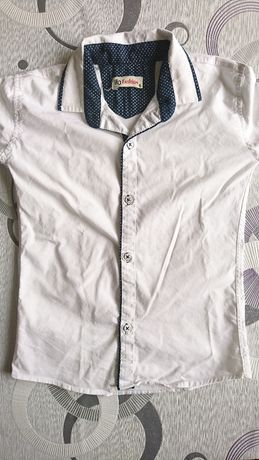 koszula krata szara i 2 białe here + there zestaw pakiet 3 sztuki