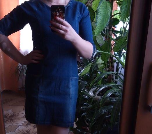 Джинсовое платье супер качества