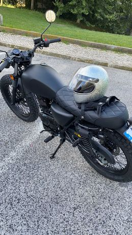 Mutt Fat Sabbath Black 125cc - em garantia