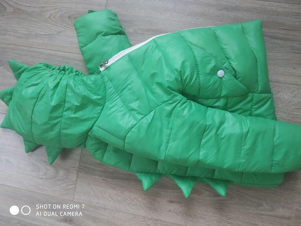 Куртка динозавр , пуховик