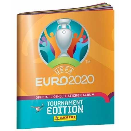 Cromos caderneta Panini Euro 2020