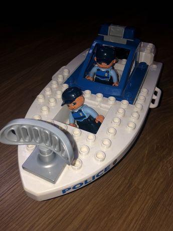 Lego Duplo motorówka policja